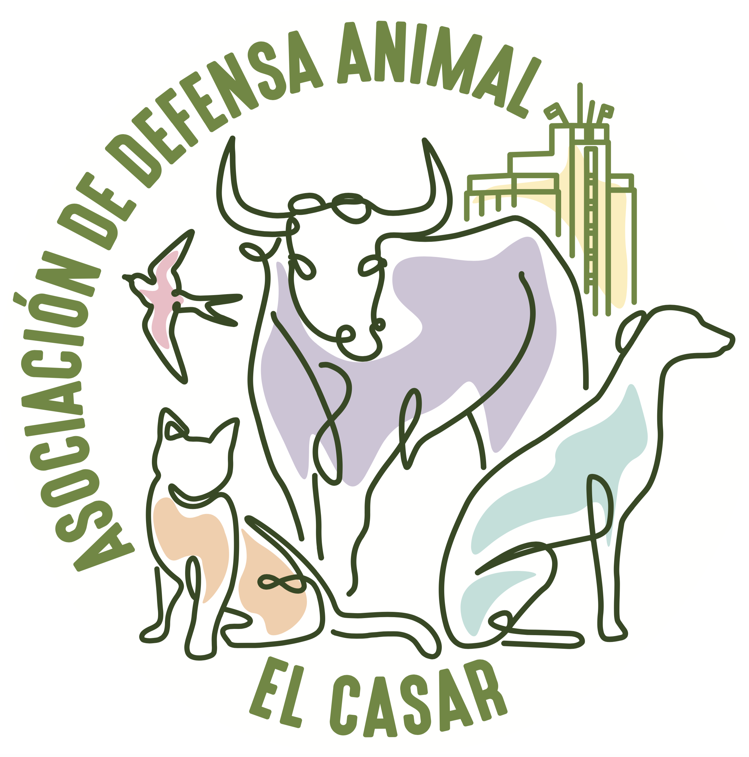 Defensa animal el Casar